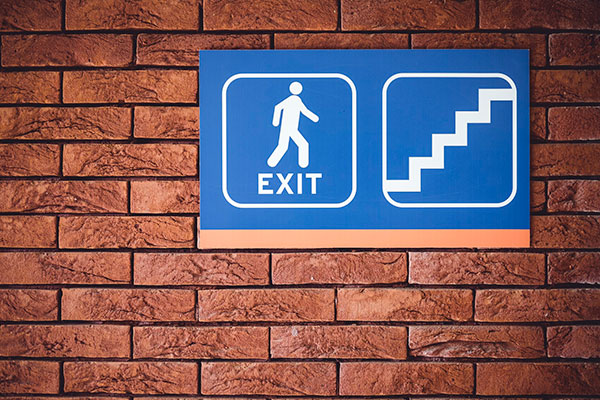 Exit Direction Signs