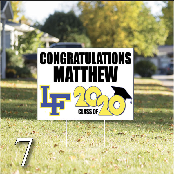 Custom Graduation Banners Signs Surely Signs