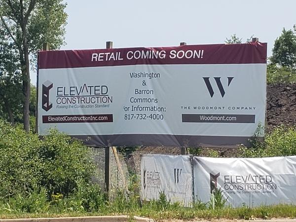 Construction vinyl banner in Chicago, IL