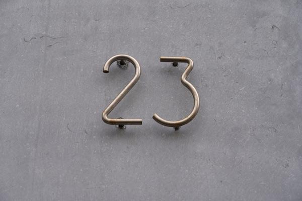 Address Sign Metal